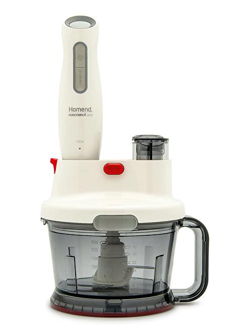 Homend 2804 Functionall Mutfak Robotu Beyaz